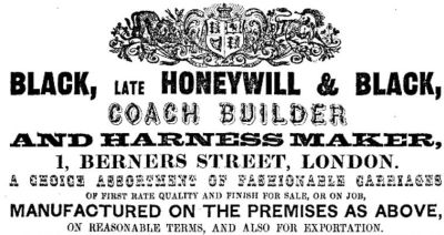 1856 advertisement from Grace's Guide