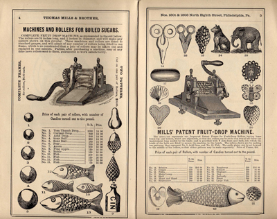 Thomas Mills & Brother, United States Confectioners' Tool Works, Descriptive and Illustrated Catalogue of Goods (1886) (Source: University of Michigan)