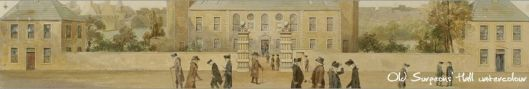 Old Hall of the Royal College of Surgeons from their library website