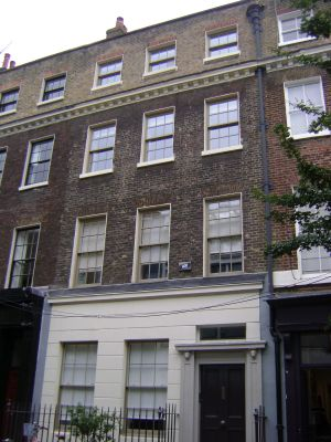 64 Lamb's Conduit Street in 2016 (now no. 35)